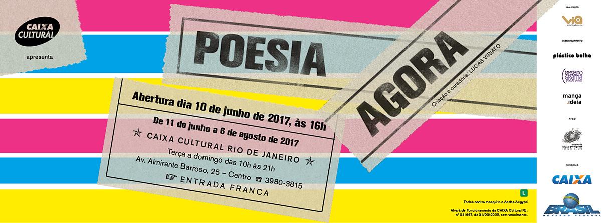 Poesia Agora Rio 1
